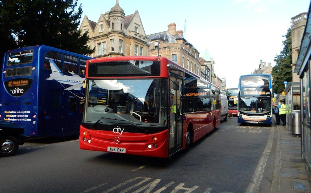 Bus congestion in St Aldates