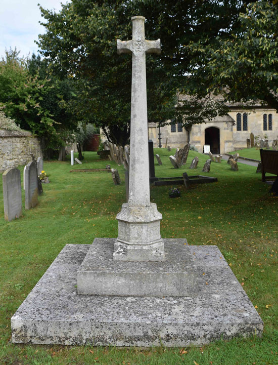 Old Marston war memorial
