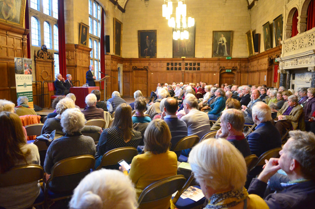 A packed Assembly Room for the Green Belt debate