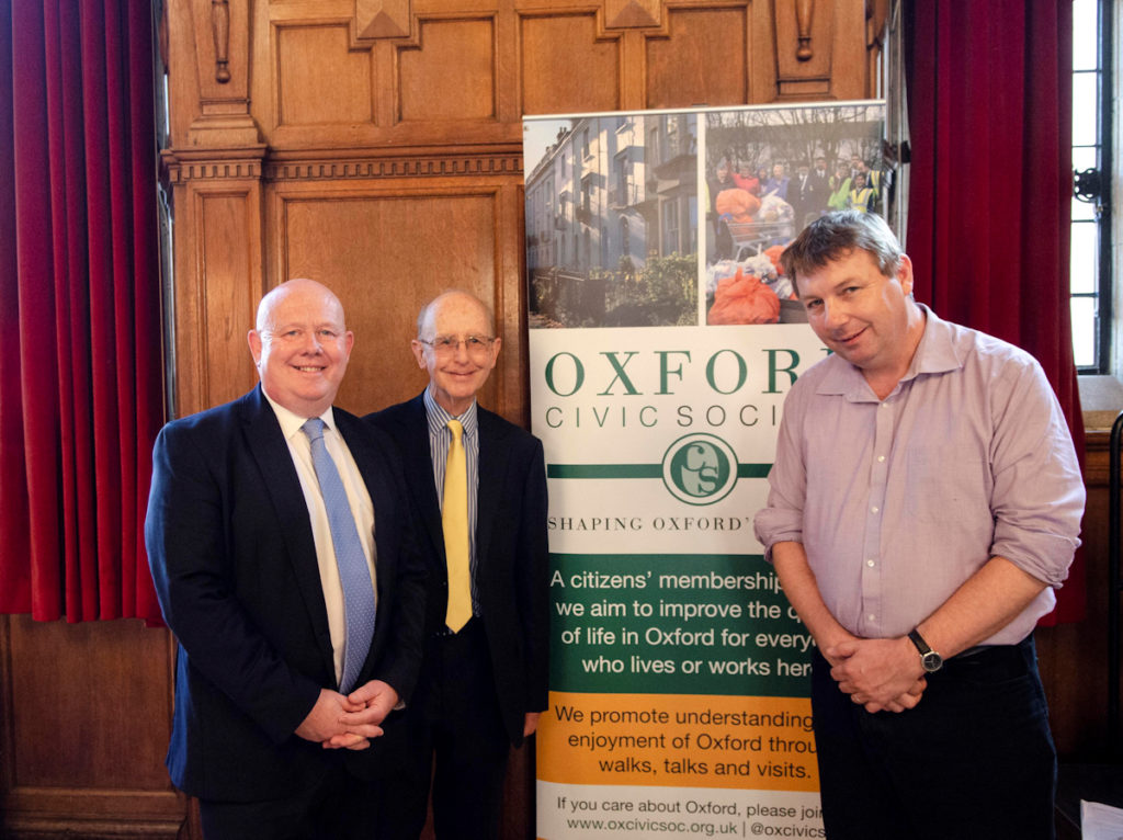 Ian Hudspeth, Clive Booth (Chair), Danny Dorling