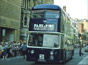 An early Oxford P&R bus
