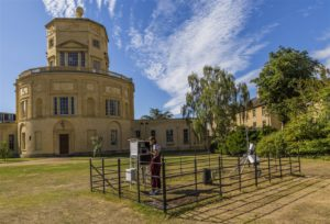 Weather observation at Radcliffe Observatory