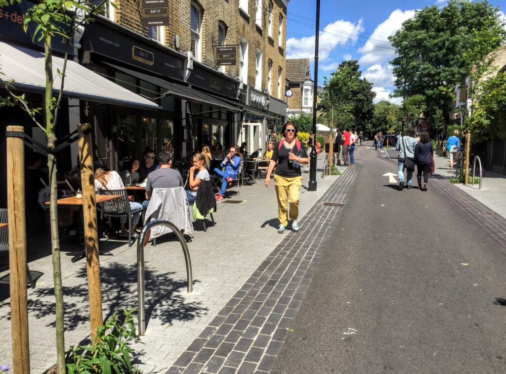 Mini Holland in Waltham Forest