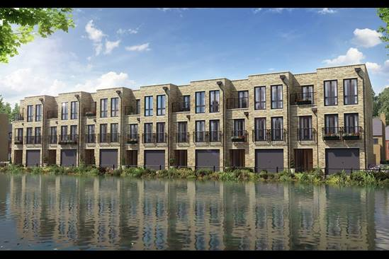 New homes, Wolvercote Paper Mill