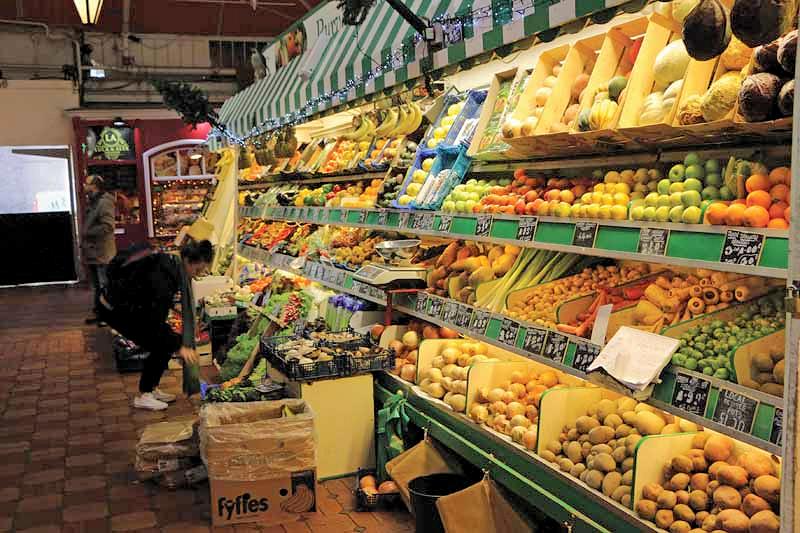 Oxford Covered Market Bonner's fruit & veg