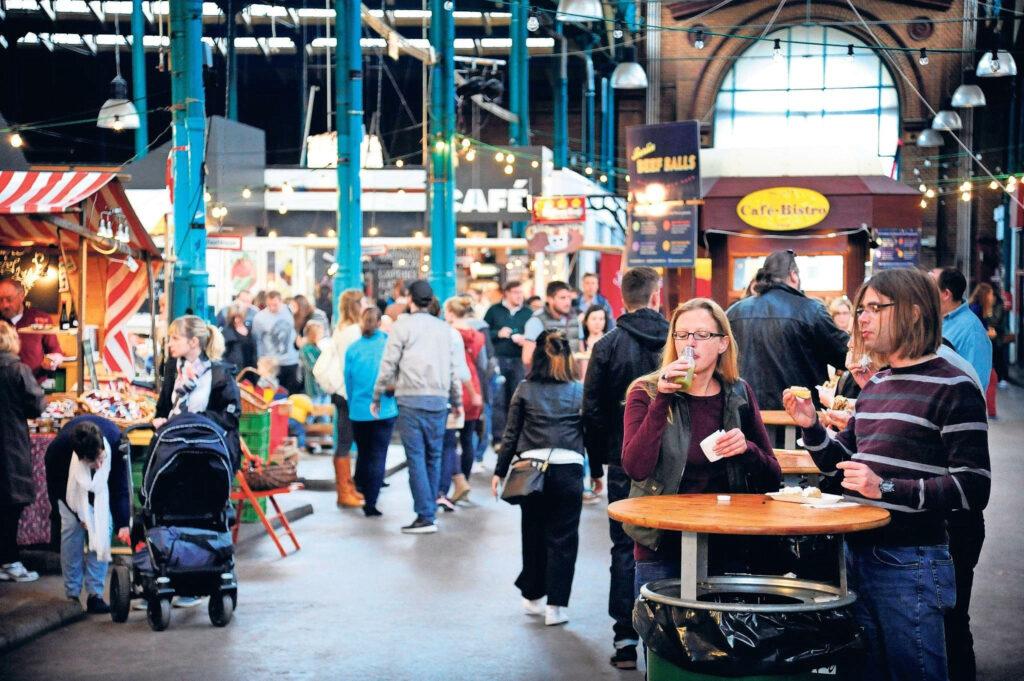 German indoor market, Berlin